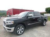2019 Diamond Black Crystal Pearl Ram 1500 Limited Crew Cab 4x4 #128306863