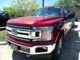 2018 Ruby Red Ford F150 XLT SuperCrew 4x4 #128306946