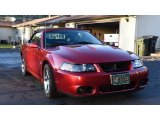 2003 Redfire Metallic Ford Mustang Cobra Convertible #128306646