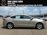 2018 White Gold Ford Fusion Hybrid SE #128306730