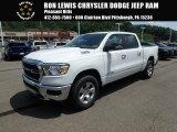 2019 Bright White Ram 1500 Big Horn Crew Cab 4x4 #128306894