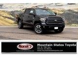2018 Midnight Black Metallic Toyota Tundra SR5 CrewMax 4x4 #128306673