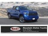 2018 Blazing Blue Pearl Toyota Tundra SR5 CrewMax 4x4 #128306672