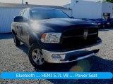2012 Black Dodge Ram 1500 Outdoorsman Quad Cab 4x4 #128331609