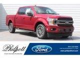 2018 Ruby Red Ford F150 XLT SuperCrew #128379652