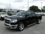 2019 Diamond Black Crystal Pearl Ram 1500 Big Horn Quad Cab #128416027