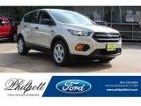 2018 White Gold Ford Escape S #128415924