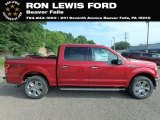 2018 Ruby Red Ford F150 XLT SuperCrew 4x4 #128436576