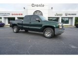 Dark Green Metallic Chevrolet Silverado 1500 in 2005