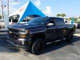 2016 Tungsten Metallic Chevrolet Silverado 1500 LT Crew Cab 4x4 #128436758