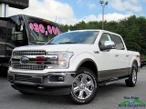 2018 White Platinum Ford F150 Lariat SuperCrew 4x4 #128458940