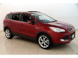 2014 Ruby Red Ford Escape Titanium 1.6L EcoBoost #128459191