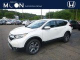 2018 White Diamond Pearl Honda CR-V EX AWD #128478438