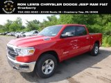 2019 Flame Red Ram 1500 Big Horn Crew Cab 4x4 #128478291