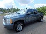2009 Blue Granite Metallic Chevrolet Silverado 1500 LT Crew Cab 4x4 #128478416