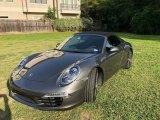 2012 Meteor Grey Metallic Porsche 911 Carrera S Cabriolet #128478140