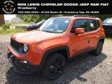 2018 Omaha Orange Jeep Renegade Latitude 4x4 #128478314