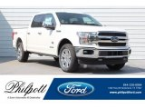 2018 White Platinum Ford F150 King Ranch SuperCrew 4x4 #128510350