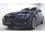 2018 Mediterranean Blue Metallic BMW 3 Series 330i xDrive Sedan #128510226