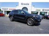 2017 Diamond Black Crystal Pearl Jeep Grand Cherokee Limited #128510323