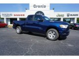 2019 Patriot Blue Pearl Ram 1500 Big Horn Quad Cab #128510318