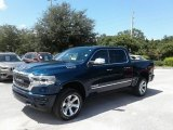 2019 Patriot Blue Pearl Ram 1500 Limited Crew Cab 4x4 #128542818
