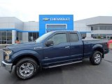 2016 Blue Jeans Ford F150 XLT SuperCab 4x4 #128542672