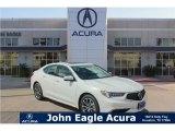 2018 Bellanova White Pearl Acura TLX V6 Technology Sedan #128562611