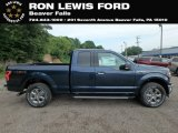 2018 Blue Jeans Ford F150 XLT SuperCab 4x4 #128562627