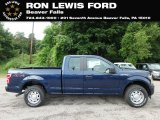 2018 Blue Jeans Ford F150 XL SuperCab 4x4 #128562624