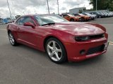 2014 Crystal Red Tintcoat Chevrolet Camaro LT Coupe #128562618