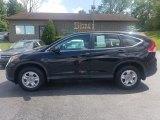 2012 Crystal Black Pearl Honda CR-V LX #128582700