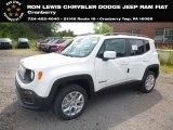 2018 Alpine White Jeep Renegade Latitude 4x4 #128602128