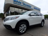 2014 White Diamond Pearl Honda CR-V EX AWD #128602288