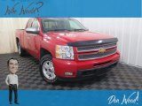 2013 Victory Red Chevrolet Silverado 1500 LTZ Extended Cab 4x4 #128602344