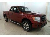 2014 Sunset Ford F150 STX SuperCab 4x4 #128633083