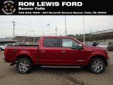 2018 Ruby Red Ford F150 Lariat SuperCrew 4x4 #128632807