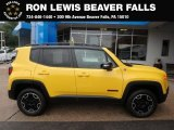 2017 Solar Yellow Jeep Renegade Trailhawk 4x4 #128632821
