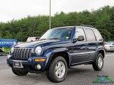 2002 Patriot Blue Pearlcoat Jeep Liberty Limited 4x4 #128661998