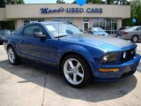 Vista Blue Metallic Ford Mustang in 2008