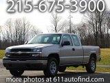 2005 Silver Birch Metallic Chevrolet Silverado 1500 Extended Cab 4x4 #12861960