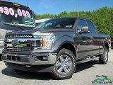 2018 Magnetic Ford F150 XLT SuperCab 4x4 #128695306