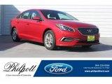 2017 Scarlet Red Hyundai Sonata SE #128717661