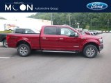 2018 Ruby Red Ford F150 Lariat SuperCrew 4x4 #128717659