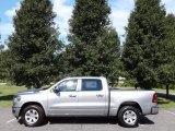 2019 Billett Silver Metallic Ram 1500 Laramie Crew Cab 4x4 #128717503