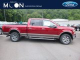 2018 Ruby Red Ford F150 Lariat SuperCrew 4x4 #128717658