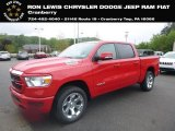 2019 Flame Red Ram 1500 Big Horn Crew Cab 4x4 #128717612