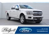 2018 White Platinum Ford F150 Platinum SuperCrew 4x4 #128737856