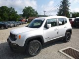 2018 Glacier Metallic Jeep Renegade Latitude 4x4 #128737840