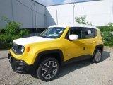 2018 Solar Yellow Jeep Renegade Latitude 4x4 #128737839
